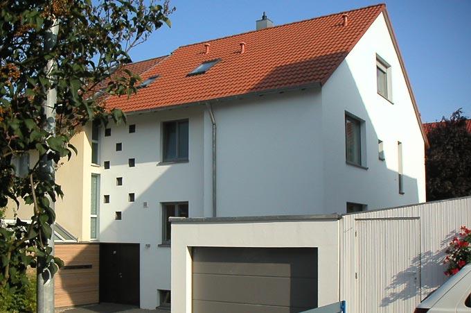 doppelhaush lfte gerlingen appinger architekten architektur und energieberatung. Black Bedroom Furniture Sets. Home Design Ideas